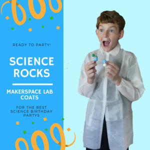 Makerspace Lab Child Lab Coats for Kids Disposable