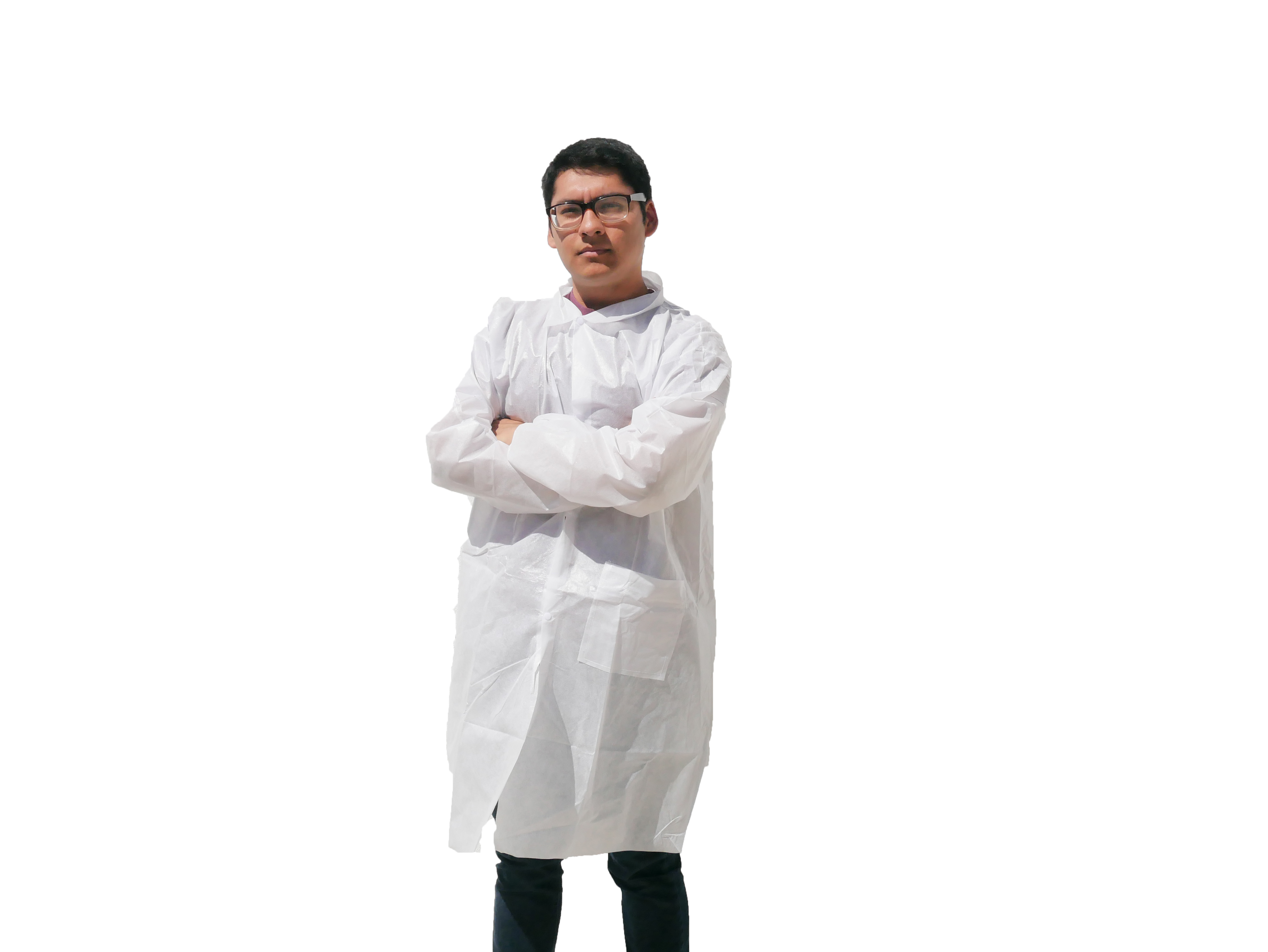 Makerspace Lab Adult Disposable Lab Coat