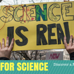 Science is Real Poster March For Science #ScienceMarch