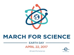 March For Science Earth Day 2017 #ScienceMarch
