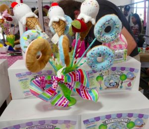 Sugar Push Sewing Kit Donuts and Ice Cream Cones