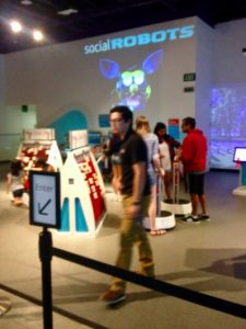 creating social robots at the San Jose tech museum
